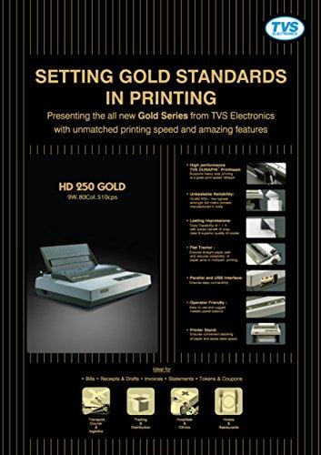 Tvs HD 250 Monochrome Dot Matrix Printer
