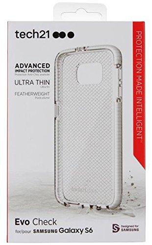 Tech21 Evo Check for Samsung Galaxy S6 - Clear/White