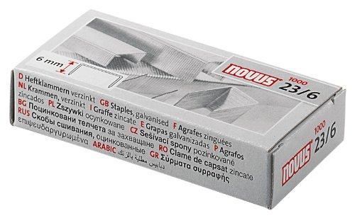 (Novus 23/6 Staples (Box of 1000))