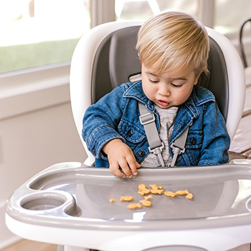 Ingenuity SmartClean Trio Elite 3-in-1 High Chair - Slate - High Chair, Toddler Chair, and Booster by Ingenuity (Image #5)