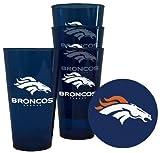 NFL Plastic Pint Glass Sets