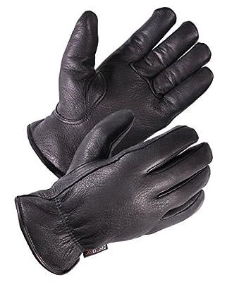 SKYDEERE Deerskin Leather Hi-Performance Utility Drivers Work Glove