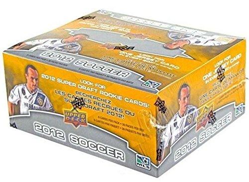 2012 Upper Deck Soccer 36-Pack Retail Box