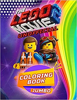 Amazon.com: The LEGO Movie 2 JUMBO Coloring Book: Amazing ...