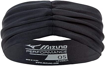 mizuno volleyball headbands black