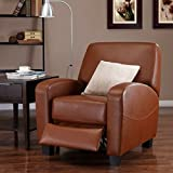Mainstays Home Theater Recliner, Multiple Colors (Camel)