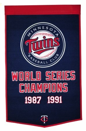 Minnesota Twins Banner (Winning Streak MLB Minnesota Twins Dynasty Banner)