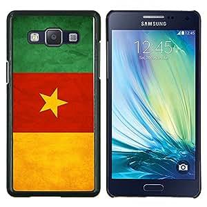 """Be-Star Único Patrón Plástico Duro Fundas Cover Cubre Hard Case Cover Para Samsung Galaxy A5 / SM-A500 ( Bandera nacional de la Serie-Camerún"""" )"""