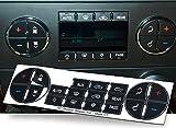 OxGord AC Dash Button Repair Kit For Select GM