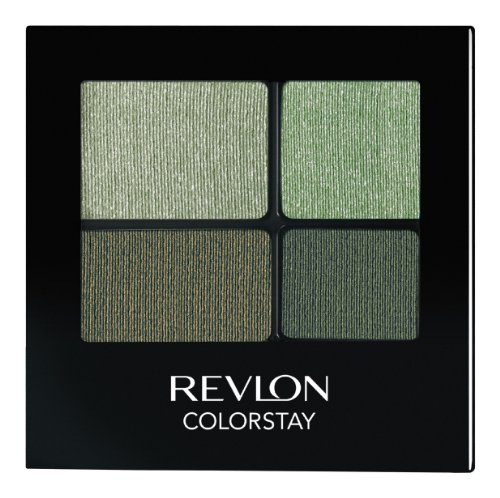 REVLON Colorstay 16 Hour Eye Shadow Quad, Luscious, 0.16 Ounce]()