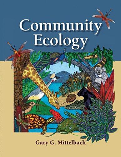 Pdf Download Community Ecology Pdf Epub Mobi By Gary G