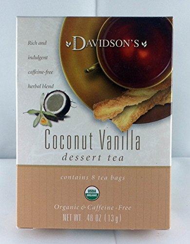 Tea Bag Box of 8 Organic, Coconut Vanilla