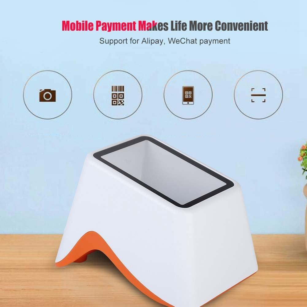 tragbare USB-Scanplattform 2D-QR-Code Barcode-Scanner-Unterst/ützung Wechar//Alipay Mobile Payment Market f/ür f/ür Alipay WeChat Payment. Taidda Barcode-Scanner
