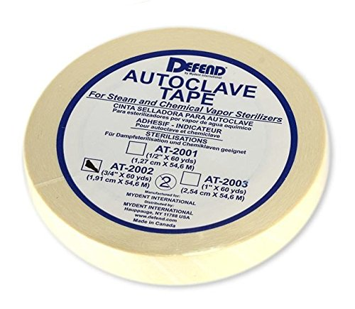 Tape Sterilizer Indicator - Autoclave Indicator Tape 3/4