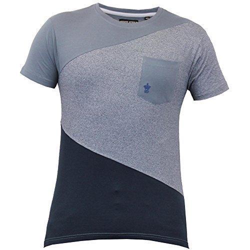 Herren Kurzärmelig Netz T-shirts Von Soul Star - Dunkelgrau - QUINPKB, XL