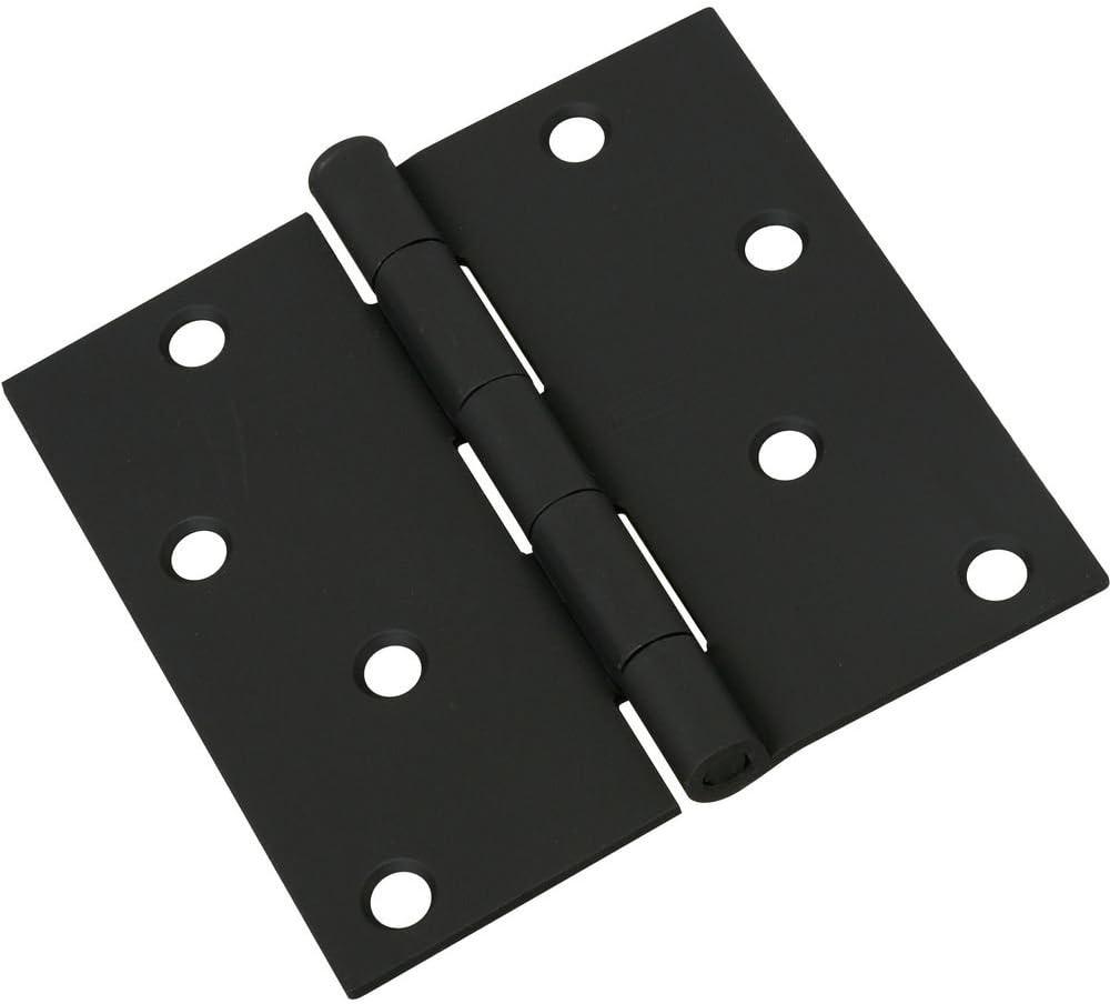 National Hardware N241-208 V512 Door Hinge in Black