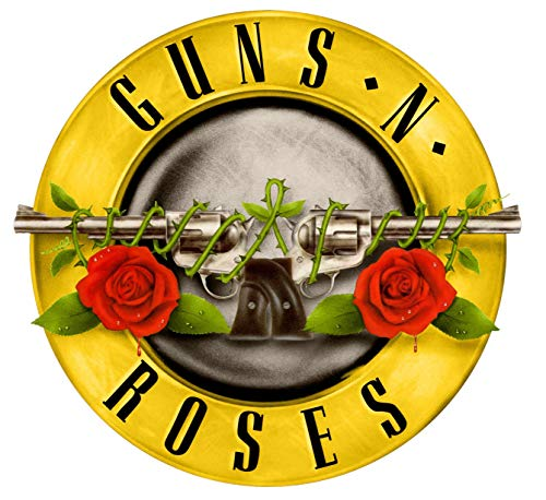 Guns N Roses Iron On Transfer for T-Shirts & Other Light Color Fabrics #4 (Rock Band Iron On Transfers For T Shirts)