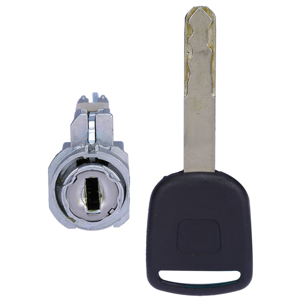 QUIOSS Ignition Switch Cylinder Lock With Keys For Honda & Acura Vehicles 2003-2015 New aftermarket