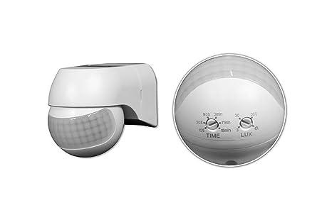 Plafoniere Con Sensore Di Presenza : Sensore movimento infrarossi pir crepuscolare rileva presenza luci
