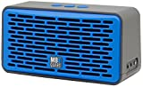 MB Quart QUB4.10201 QUBFour Oversized Wireless Bluetooth Speaker with 12-Hour of Music, Blue
