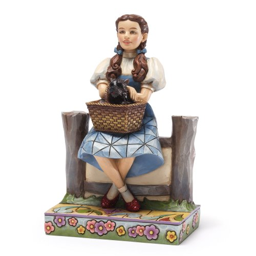 Wedding Oz Of Wizard - Enesco Jim Shore Wizard of Oz DOROTHY and TOTO Figurine, 5.875-Inch