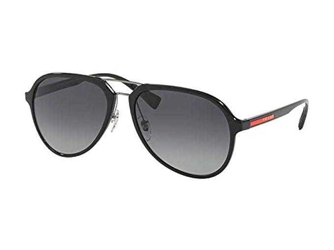 Prada Sport 0PS 05RS Gafas de sol, Black, 57 para Hombre ...