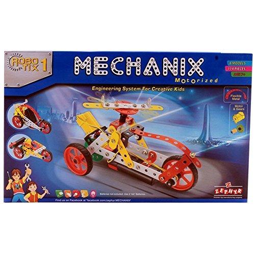 Zephyr Mechanix Robotix 1 Safe and Non Toxic Toys for Children  Multicolour