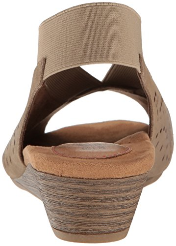 Light Women's Hill Peep Pump Sling Khaki Cobb Judson qYR5z