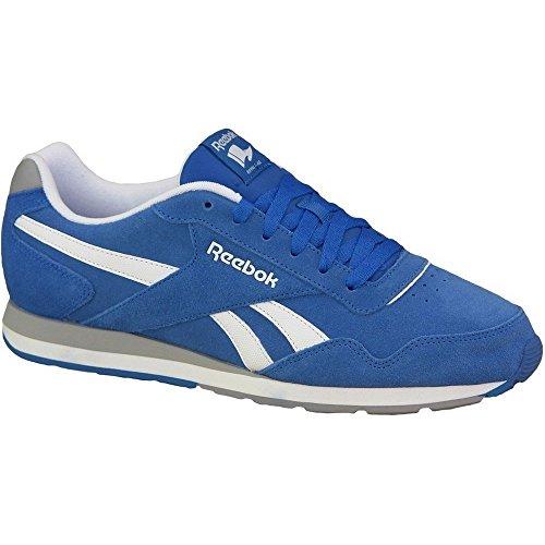 Reebok Royal Glide, Zapatillas de Deporte para Hombre Azul (Buff Blue / Tin Grey / White)