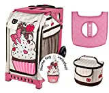 Zuca Sport Bag - Sprinklez with Gift Lunchbox and Seat Cover (Pink Frame)