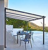 Shatex Shade Panel Block 90% of UV Rays with Ready-tie up Ribbon for Pergola/Greenhouses/Carport/Porch 10x10ft Tan
