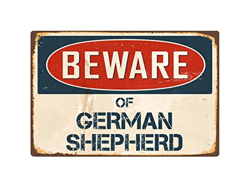 (StickerPirate Beware of German Shepherd 8