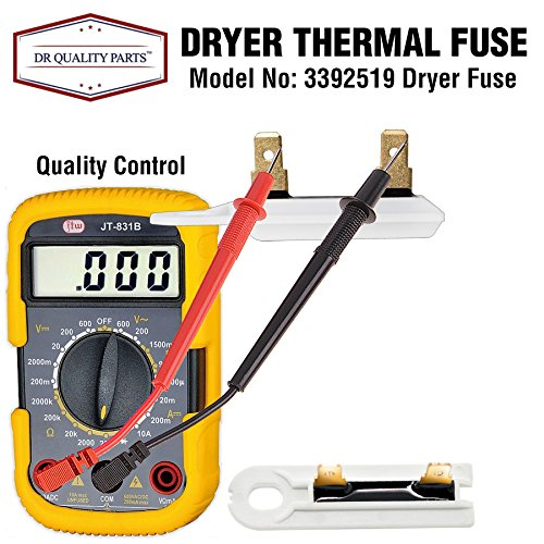 3392519 dryer thermal fuse replacement part for. Black Bedroom Furniture Sets. Home Design Ideas