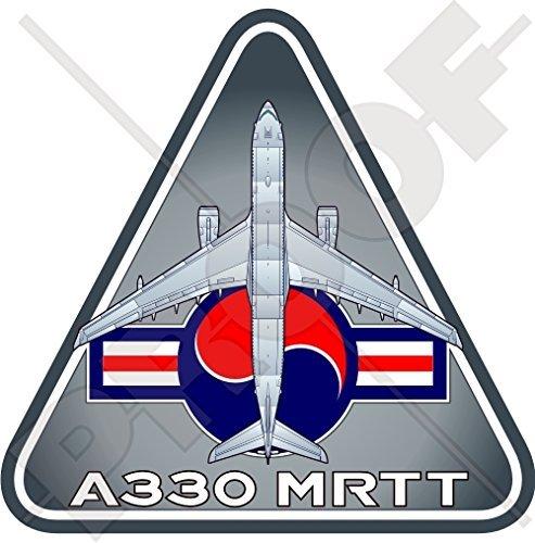 Airbus A330 MRTT Republic of Korea Air Force ROKAF Tanker-Transport ROK South Korean Aircraft Vinyl Sticker, Decal 3.7