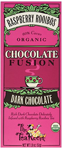 k Organic Chocolate Fusion, Raspberry Rooibos, 1.8 Ounce (Pack of 12) (Raspberry Room)