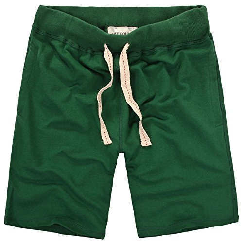 - Amy Coulee Men's Outdoor Sport Cotton Shorts (L, Green)