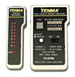 Multi-Network and Modular Cable Tester With Double Sided Foam Tape