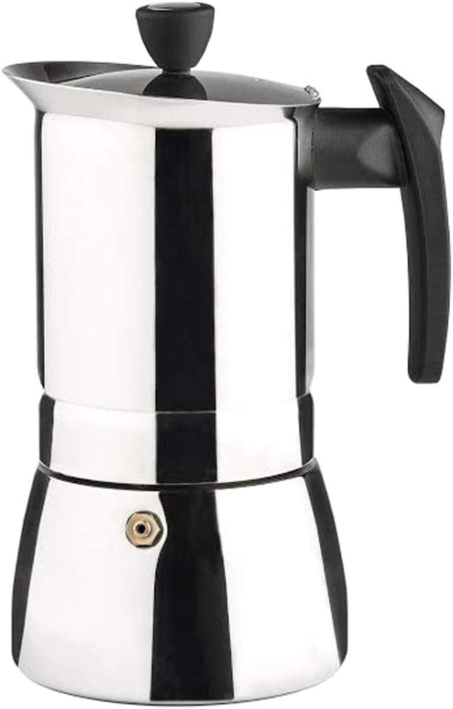 Vier 650-6I Cafetera, Acero Inoxidable 18/10, Plateado: Amazon.es ...