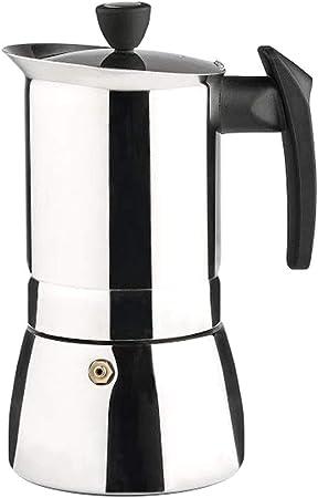 Vier 650-9I Cafetera, Acero Inoxidable 18/10, Plateado: Amazon.es: Hogar