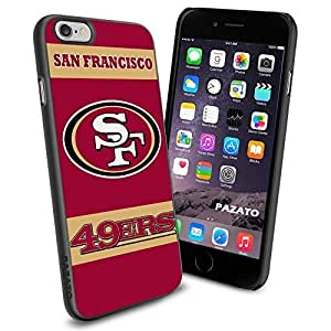 diy zhengNFL SF SANFRANCISCO 49ERS Cool iphone 5/5s Case Collector iPhone TPU Rubber Case Black