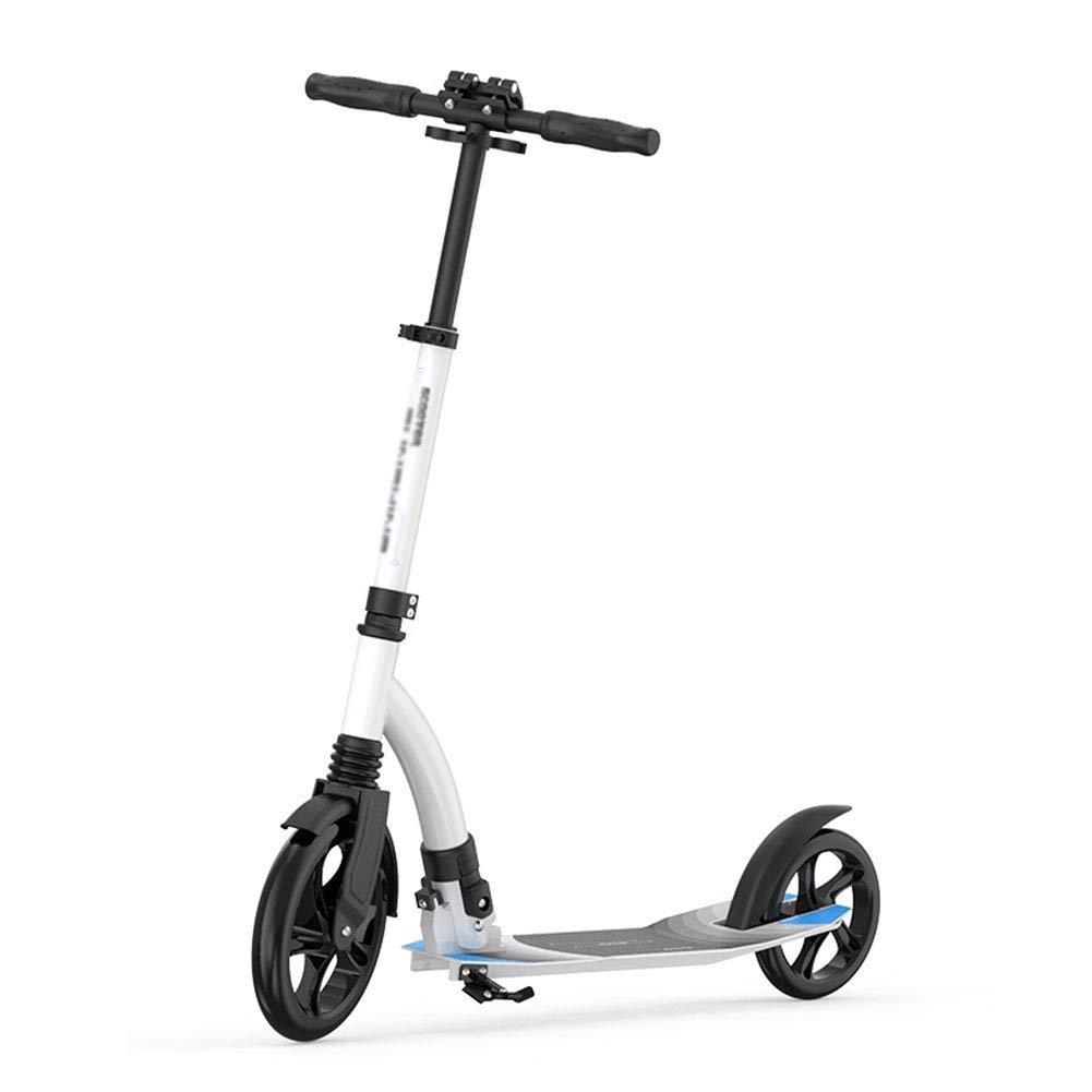 [定休日以外毎日出荷中] スクーターを蹴る子供たち 二輪車の大型車輪用緩衝スクーター、ステップバイステップ折りたたみ自転車 (色 (色 : B07R52LPM9 白) 白) B07R52LPM9 白, 南海ゴルフ:67a46a9b --- 4x4.lt