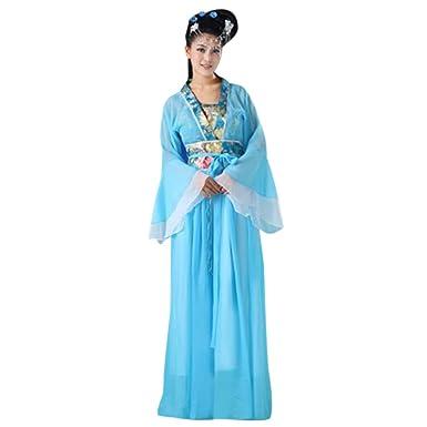 KINDOYO Traje Chino Tradicional - Mujer Clásico Estilo Chino ...