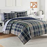 Izod 028828315038 Comforter Set, Full/Queen, Crockery, 3 Piece