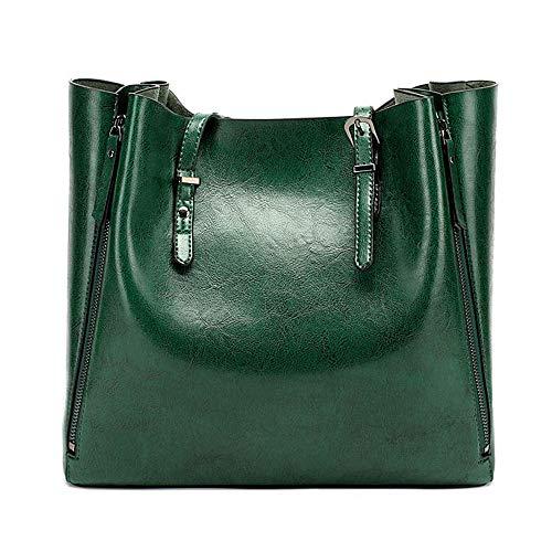 Aizoocy Womens Satchel Hobo Top Handle Tote Handbag Designer Shoulder bags Purse Bucket Crossbody Bag (New Green)