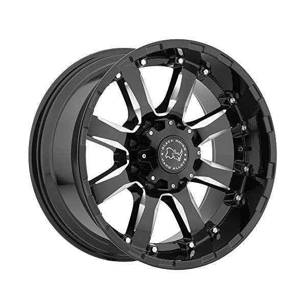 Black-Rhino-Sierra-Black-Wheel-with-Painted-Finish-17-x-9-inches-6-x-135-mm-12-mm-Offset
