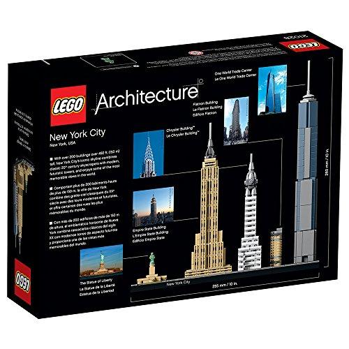 51lYsKM8PvL - LEGO Architecture New York City 21028, Skyline Collection, Building Blocks