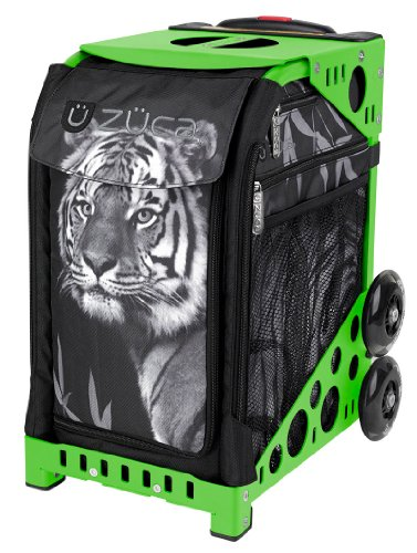 Zuca Sport Insert Bag Tiger with ZUCA Sport Frame (Green) by ZUCA