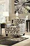 Ashley Furniture Signature Design - Levon Accent Chair - Contemporary - Charcoal Gray