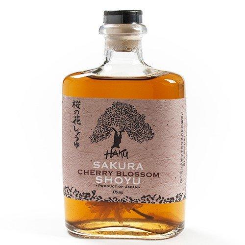 Haku Sakura Cherry Blossom Shoyu (375 ml) (Salted Soy Sauce)