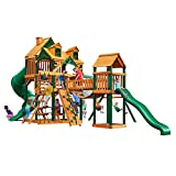 Gorilla Playsets Malibu Treasure Trove I Swing Set w/Natural Cedar